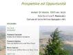 Locandina incontro di informazione Parco dei Monti Sicani
