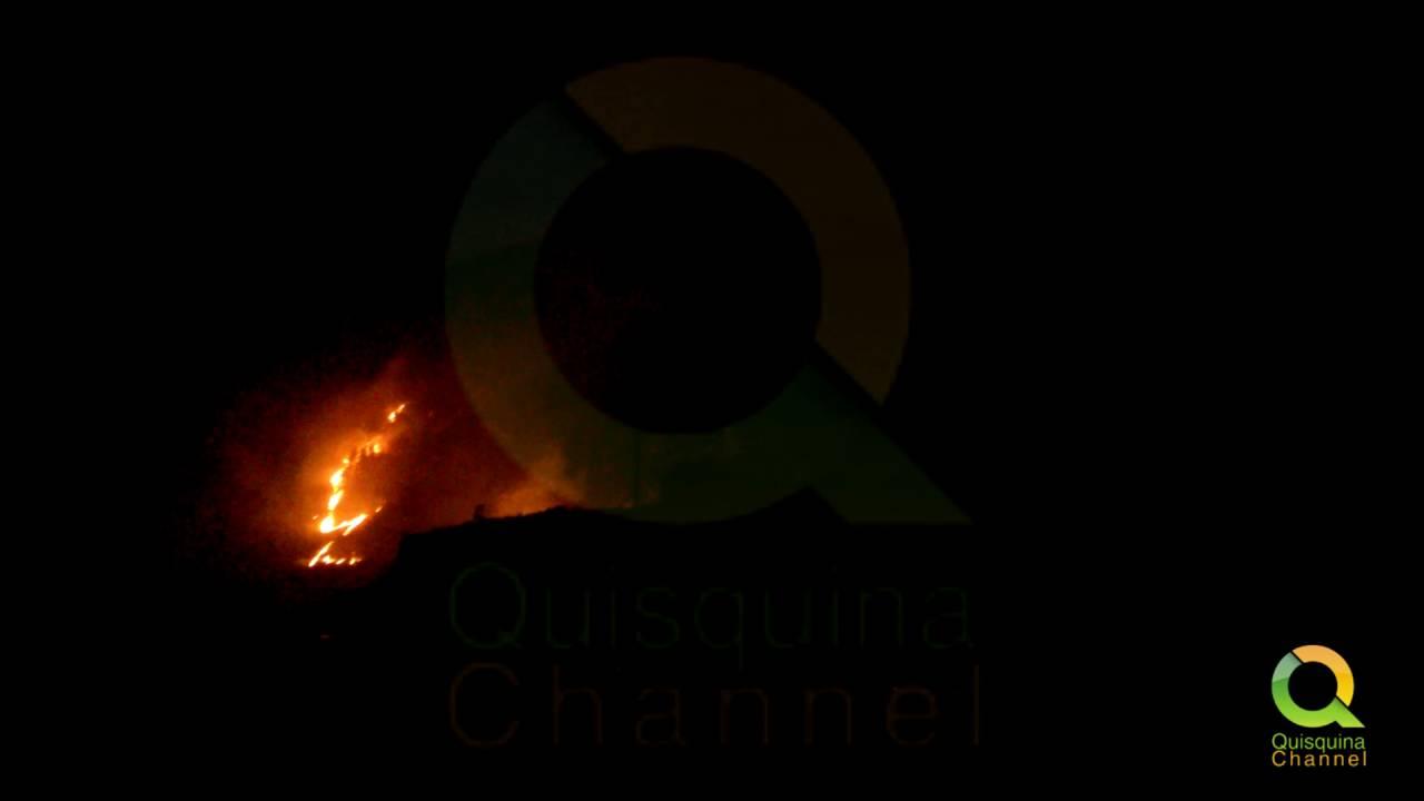 Incendio a Santo Stefano Quisquina – 16 Giugno 2016